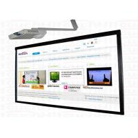 Optical imaging CCD finger touch whiteboard electronic IR interactive whiteboard 84MTA Manufactures