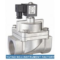 Cheap Pilot Operated NC Solenoid Valve High Pressure  , 15mm Solenoid Valve SS304 for sale