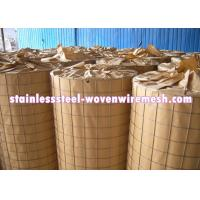 Light Weight Stainless Steel Welded Wire Mesh 3 X 3 For Fencing Long Service Life Manufactures