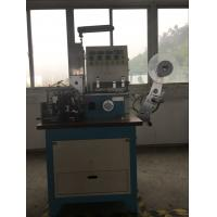 Ultrasonic And Automatic Automatic Ribbon Cutter For Printed Lables , Label Folding Machine Manufactures