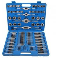 Titanium Nitride Coated Alloy Steel Metric Taps and Dies Set 110 PCS for Industrial Manufactures