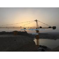 Cheap 25T TC7550 75M Jib Arm Huge Topkit Types of Tower Cranes 5.0T Tip Load for sale