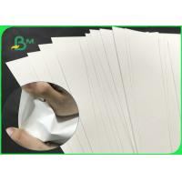Waterproof 100um 130um 150um Double Glossy No - Tear Paper For Label Manufactures