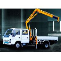 XCMG Hydraulic Arm Knuckle Boom Truck Mounted Crane With CE Certification Manufactures