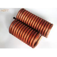 Cheap C12000 / C12200 Copper Tube Coil Heat Exchanger for Water Tank for sale