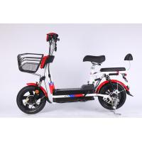 Quality 350 Watt Brushless Motor Folding Electric Bicycle With 48V 12Ah Removable Battery for sale