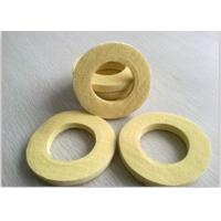 Industrial Sealing Felt  Needle Punched Kevlar Ring Used As Seal Ring Pad Yellow Manufactures