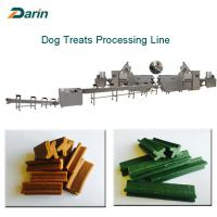 Automatic Single Screw Extruder Touch Screen for Dog Chewing Gum Treats Manufactures