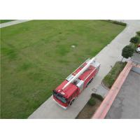 Boom Extending Time ≤60s Huge Fire Truck With Italian AUTEC Wireless Remote Controller Manufactures