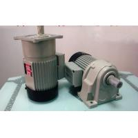 High Efficiency Foot Mounted Helical Geared Motor With Brake / Casting Iron