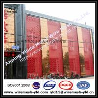special hole aluminum perforated metal for building facade Manufactures