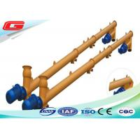 Cheap Steel Vertical Small Flexible Screw Conveyor 200 r/min Pellet Screw Conveyor for sale