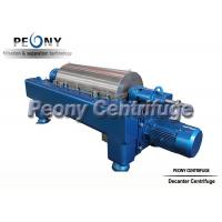 Large Capacity Continuous Decanter Solid Bowl Centrifuge Decanter Centrifuges Manufactures