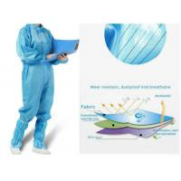 China Antivirus Disposable Medical Protective Clothing , Medical Protective Coverall on sale
