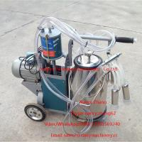 Cheap Electric Motor Piston Mobile Milking Machine Dairy Milking Equipment for sale