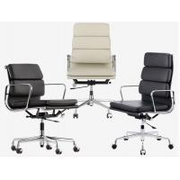 Soft Ergonomically Designed Chair With Polished Aluminum Alloy Five Star Foot Manufactures