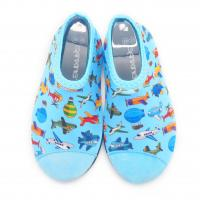 Lycra Barefoot Kids Swimming Pool Shoes Beach Aqua Shoes For Swimming Manufactures