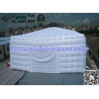 White Event Outdoor Inflatable Tent Temporary Storage Buildings , Oxford Fabric Manufactures