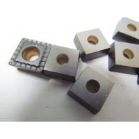 TiN Coating Metal Lathe Carbide Inserts / Durable Custom Carbide Inserts Manufactures