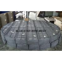 Duplex Stainless Steel Filter Wire Mesh Demister Pads / Coalescer 300 mm - 6000 mm Manufactures