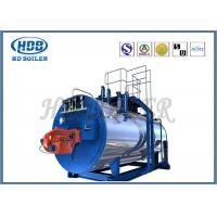 China Oil Fired / Gas Fired Steam Boiler , Industrial Steam Generators High Efficiency on sale