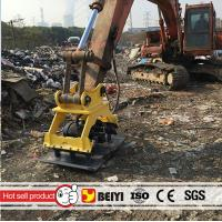 China BEIYI BYKC04 excavator mounted hydraulic vibro plate compactor vibrating compactor on sale