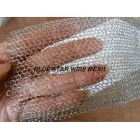 Multi Filament Stainless Steel Knitted Mesh Demiter Pad For Filter Bright Silver Color Manufactures