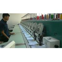 sock / Jacket / Apparel 20 head High speed Embroidery Machine with 9 needle Manufactures