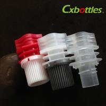 Different Style Diameter 8.6 Millimeter Plastic Spout Cap For Plastic Doypack