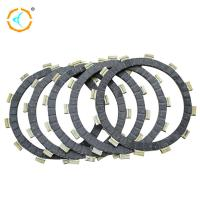 Durable Motorcycle Clutch Parts / Scooters Clutch Friction Plate For AX100