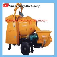 Cheap Concrete Mixing Pump Truck Mixer Concrete Pump 30kw Motor 0.55kw Power 450 L Hopper volume for sale