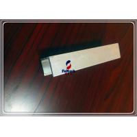 Silvery 6063 T3 / T8 Hard Anodized Aluminum Extrusion Frame For Bookcase / Cabinet Manufactures
