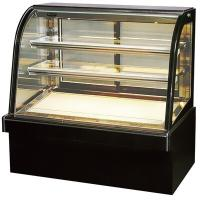 Green & Health Curved Glass Bakery Cake Display Freezer With 500L Manufactures