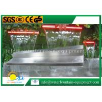 Outdoor Water Fountain Accessories Pond Waterfall Blade With Remote Controller