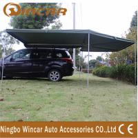 Canvas Tent Trailer Awning Waterproof with Rectangle Triangle Manufactures