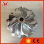 S400 171691 74.53/101.44mm boleto do turbocompressor de 6+6 lâminas/trituração/roda 2024 compressor do alumínio para S374/S375: 171702 (S400SX