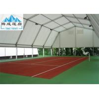 China Aluminum Structure 10x30m Sport Event Tents White PVC Fabric Wall Waterproof on sale