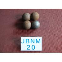 Cheap 63hrc Hot Rolled Precision Steel Balls for Ball Mill , High Hardness for sale