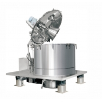 Staineless Steel Scraper Bottom Discharge Basket Centrifuge , Oilfield Solid Control System Manufactures
