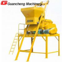 JS500 horizontal  twin shaft concrete mixer Manufactures