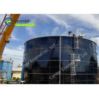Anti - Corrosion Glass Lined Water Storage Tanks Adhesion 3450N/cm Manufactures