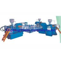 China 3 Colors Plastic Sneaker Shoe Making Machine / Footwear Manufacturing Machines on sale
