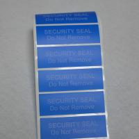 Self Adhesive Non Residue Security Labels 80gsm Eggshell Sticker Paper