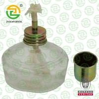 Quality 150ml Dental Laboratory Glass Alcohol Lamp With Plastic Cap for sale