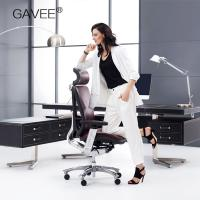 Adjustable Ergonomic Leather Chair With Move Forward And Backward Cushion Function Manufactures