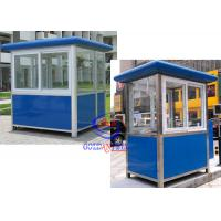 China Thermal Insulated Prefabricated Security Guard Room with electricity fittings on sale