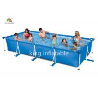 Gaint Family Stainless Steel Frame Inflatable Swimming Pools Backyard Fun Manufactures