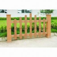 WPC Outdoor Fence, Weather-resistant, Anti-UV Agent Manufactures