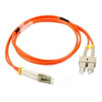 Buy cheap LC Duplex Multimode Fiber Optic Patch Cord with 3.0 fiber optic cable from wholesalers
