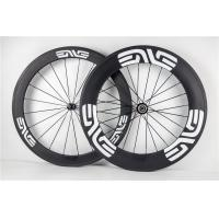 Custom Sticker 88mm  Carbon Fiber Bike Wheels Clincher Rims For  Road Bike Manufactures